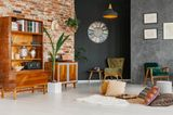 Wohntrends 2020: Wohnzimmer mit Vintage-Möbeln