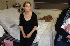 Katie Bowman im Krankenhaus