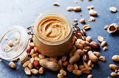 Veganes Frühstück: Erdnussbutter