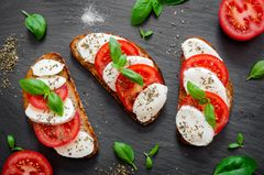 Veganes Frühstück: Veganer Mozzarella