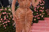 Nacktkleider der Stars:Kim Kardashian posiert
