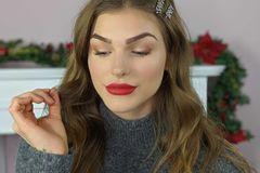 Weihnachts-Make-up