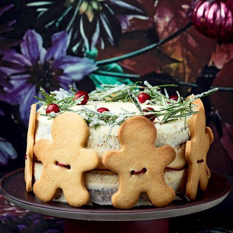 Weihnachtskuchen: Gingermen-Cake