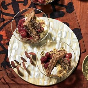 Schwarzwälder Kirsch-Trifle