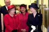 Queen Elizabeth II.: mit Margaret Thatcher