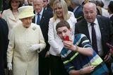 Queen Elizabeth II.: im Hintergrund eines Selfies