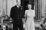 Queen Elizabeth II.: bei ihrer Verlobung