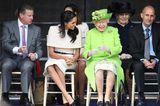 Queen Elizabeth II.: mit Meghan Markle