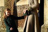 Herzogin Kate: mit Prinzessin Charlotte