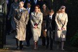 Weihnachten bei den Royals: Prinz Edward, Gräfin Sophie, Lady Louise und James gehen
