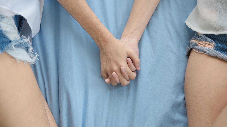 Test männer verliebt zwei in Verliebt in