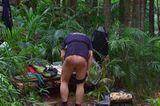 Dschungelcamp: Klaus Baumgart zieht sich die Hose runter