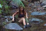 Dschungelcamp: Hanka Rackwitz im Busch