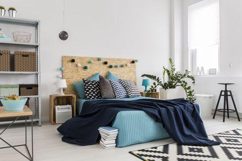Studentenzimmer einrichten: Jung und modern eingerichtetes Schlafzimmer