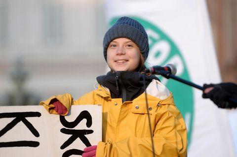 Greta Thunberg wird 17 – und an ihrem Geburtstag geht sie heute …