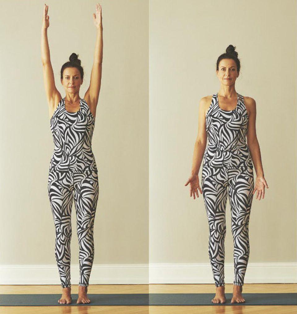 Yoga zum Aufwachen: Übungen für jeden Tag: Warm-up