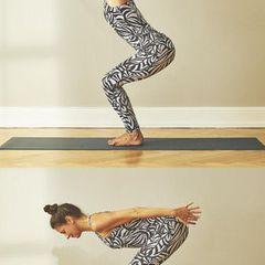 Yoga zum Aufwachen: Übungen für jeden Tag: Dynamischer Stuhl
