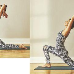 Yoga zum Aufwachen: Übungen für jeden Tag: Tiefer Ausfallschritt