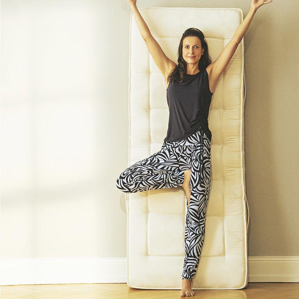 Yoga zum Aufwachen: Übungen für jeden Tag: Yogahaltung