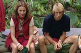 Dschungelcamp: Caroline Beil neben Carlo Thränhardt