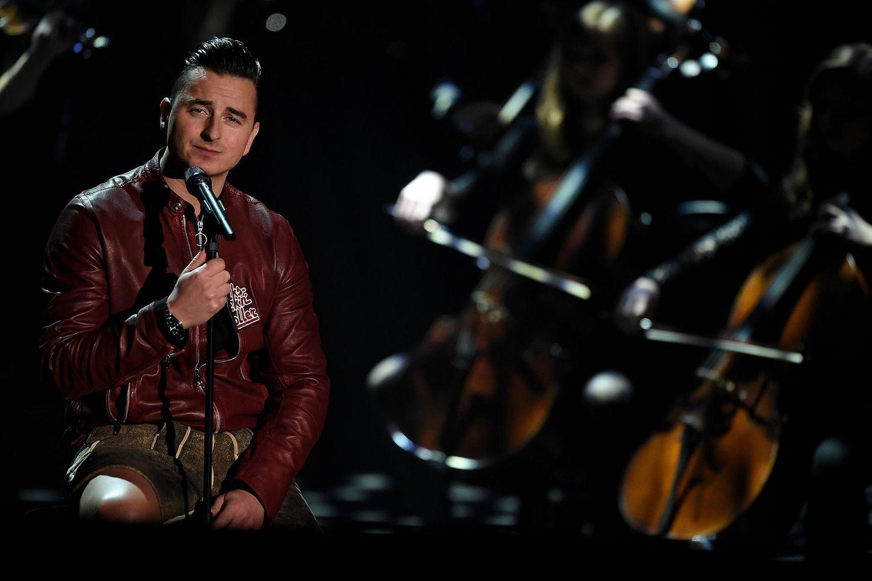 Andreas Gabalier beim Konzert