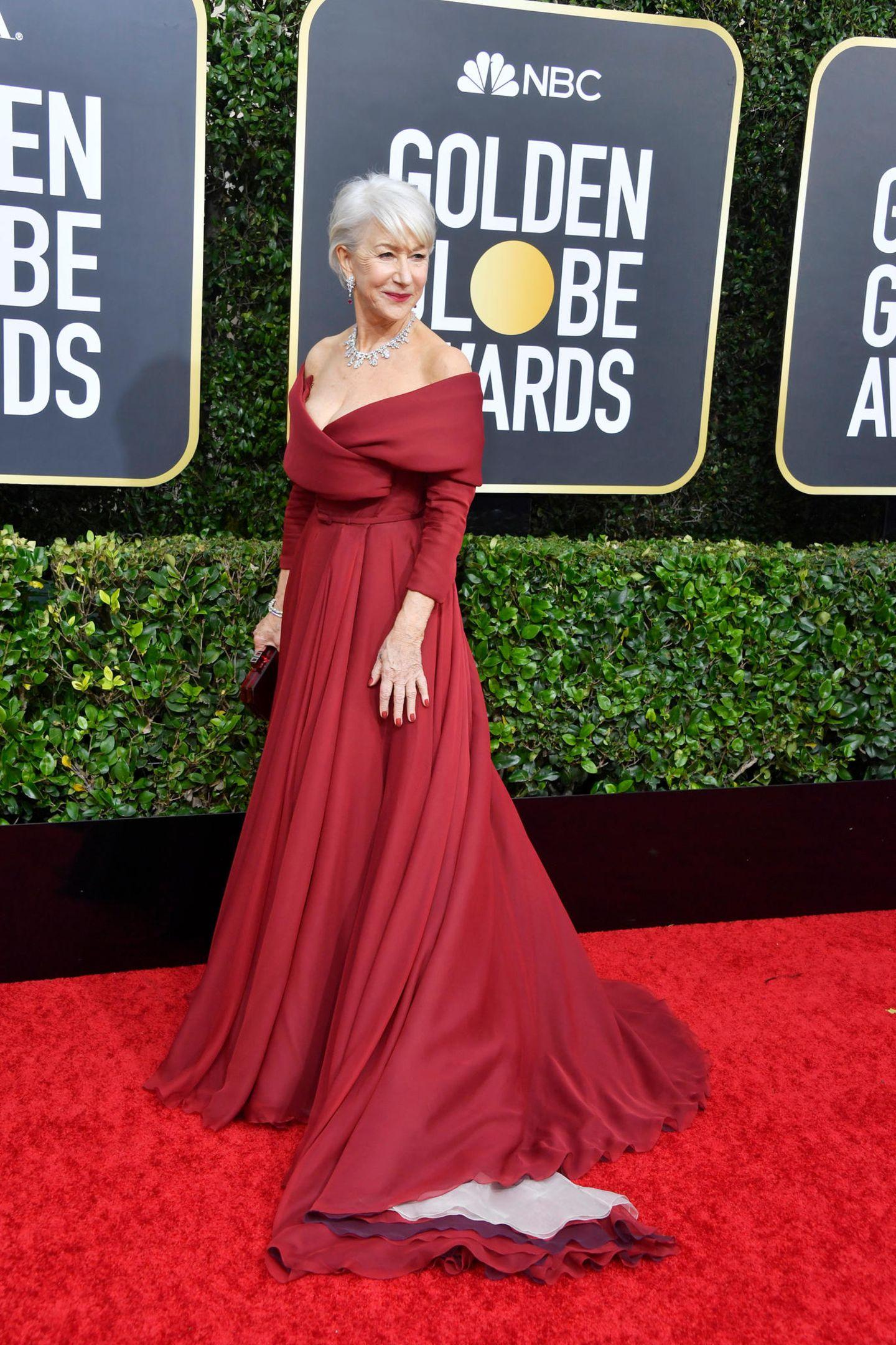 Golden Globes: Helen Mirren