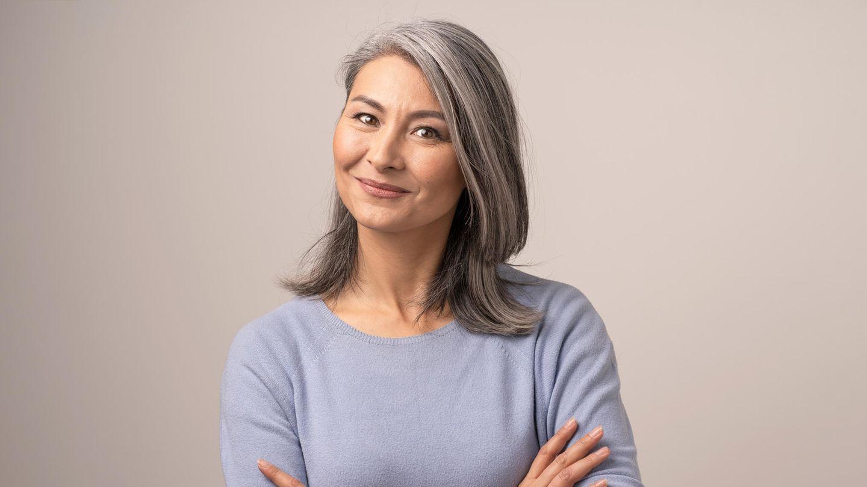 Machen strähnchen graue haare Schluss mit