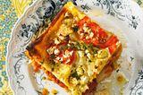 Lasagne mit Rote-Linsen-Bolognese