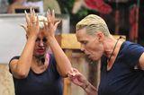 Dschungelcamp: Brigitte Nielsen und Sophia Wollersheim im Dschungel