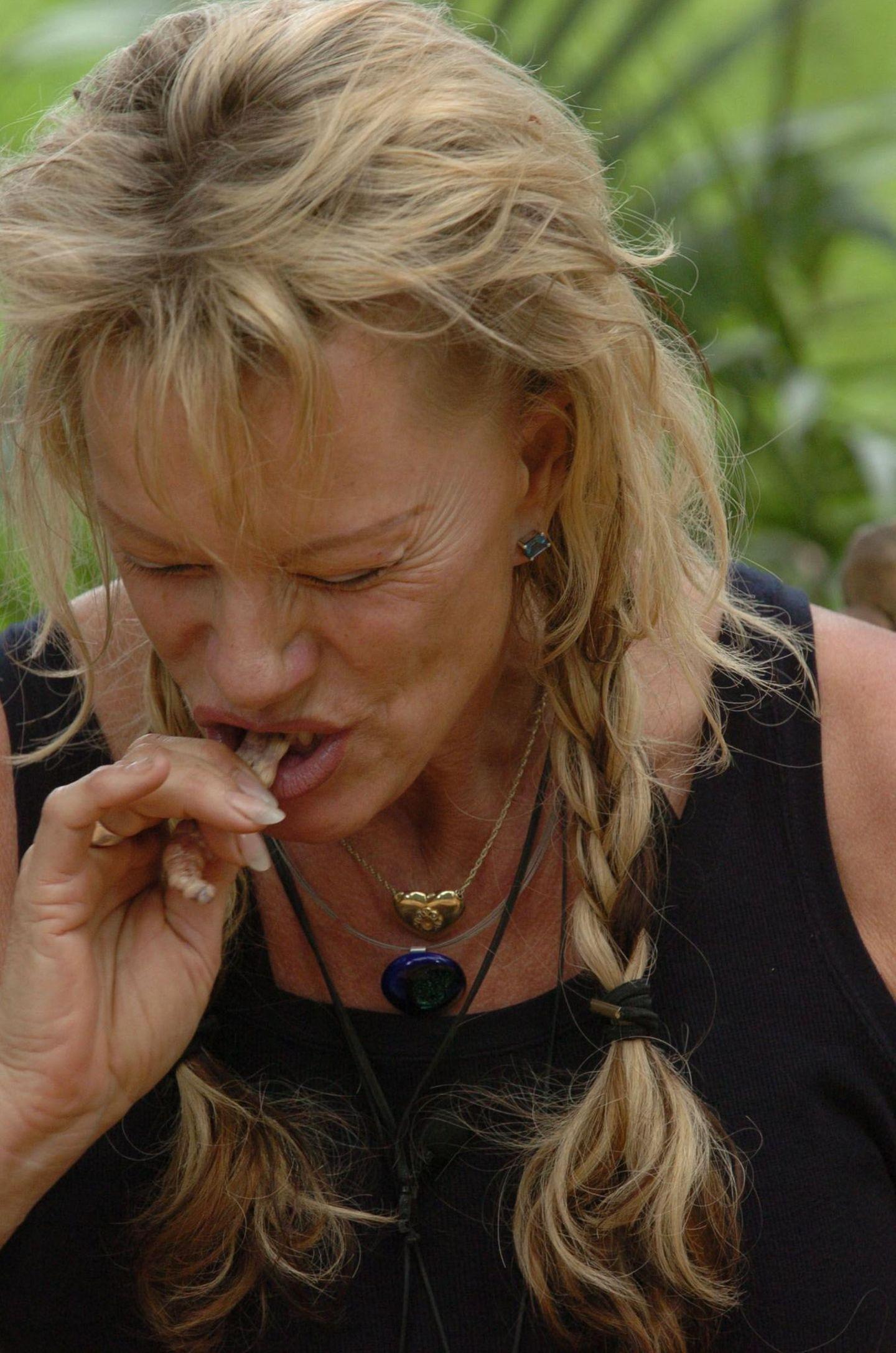 Dschungelcamp: Lisa Fitz beisst auf etwas