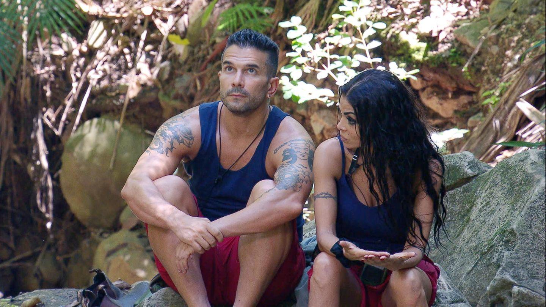 Kader Loth und Marc Terenzi im Dschungelcamp