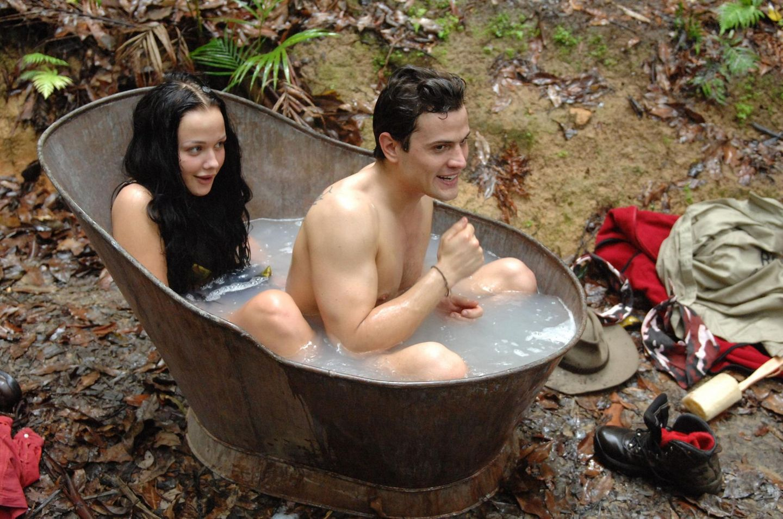 Kim Gloss und Rocco Stark im Dschungelcamp