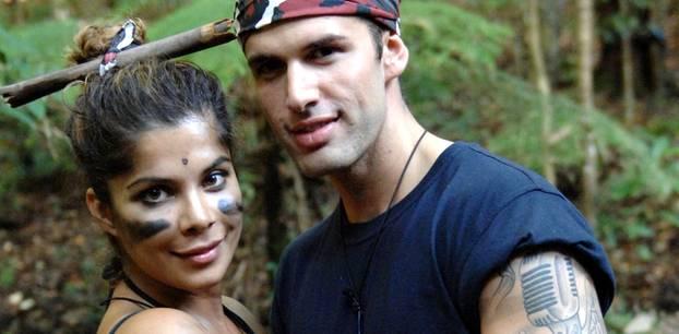 """Dschungelcamp: Alle Liebespaare aus """"Ich bin ein Star - Holt mich hier raus!"""" - Indira Weis und Jay Khan"""
