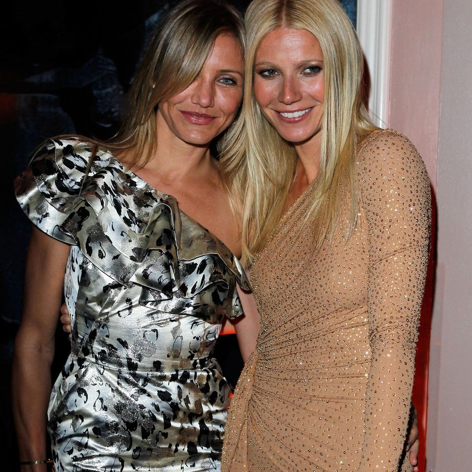 Gwyneth Paltrow zusammen mit Cameron Diaz