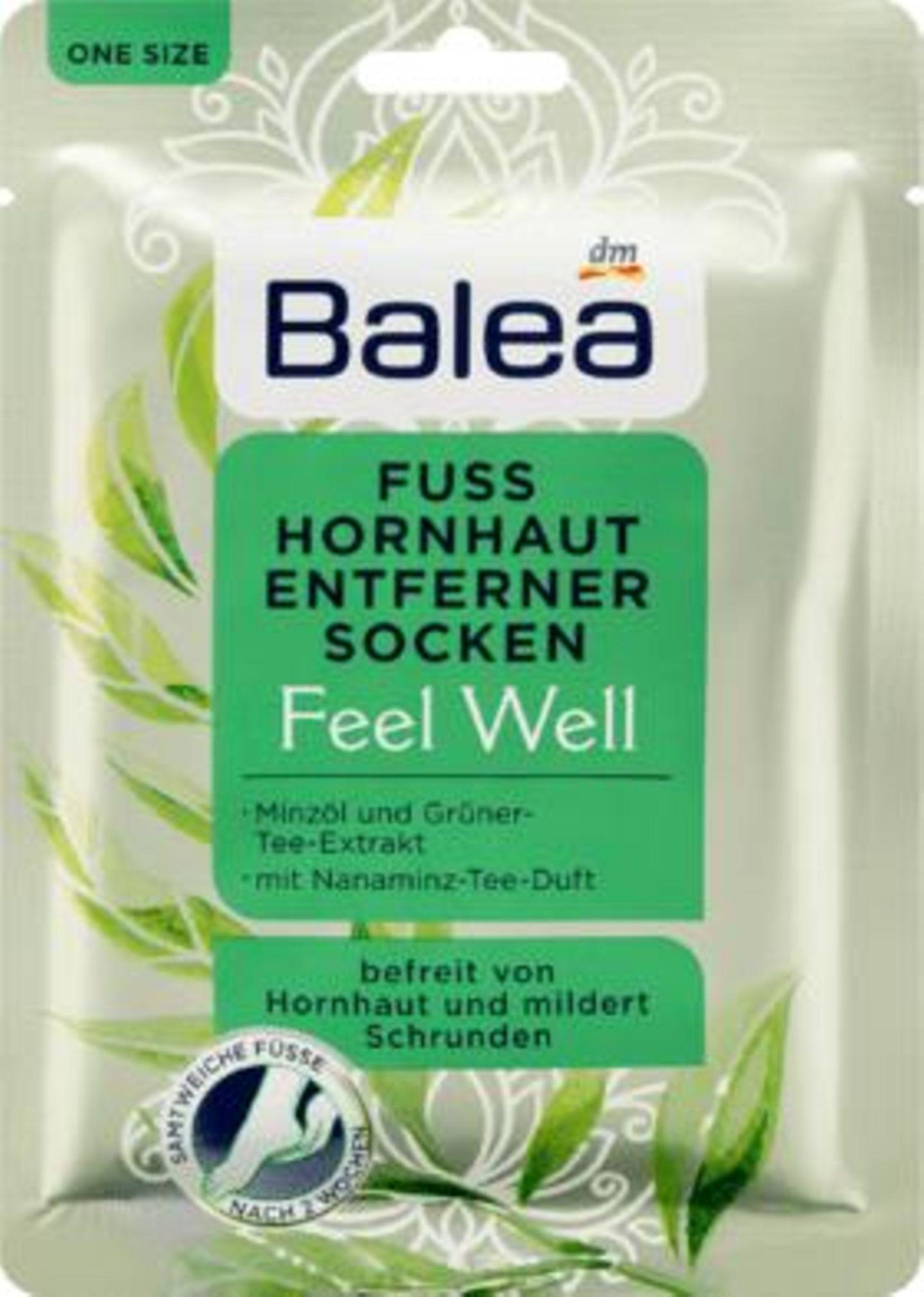 Balea Fuß Hornhaut Entferner Socken