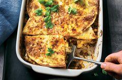Tex-Mex-Lasagne mit Tomatensalsa