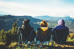 Sind Camper bessere Menschen?: Drei Camper