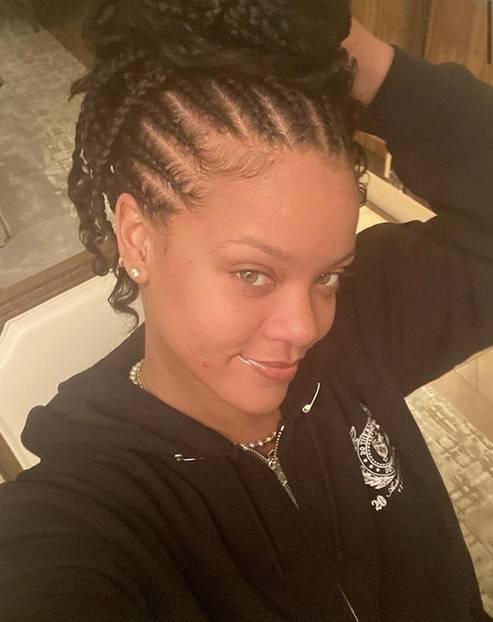Stars ungeschminkt: Rihanna