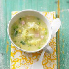 Zitronen-Blumenkohl-Suppe