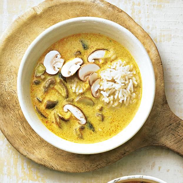 Pilz-Kokos-Suppe