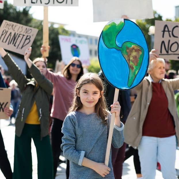 Kinder für Klimaschutz: was bewegt die Eltern?: Klimastreik
