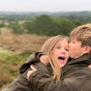 Royale Kinderfotos: Prinzessin Josephine und Prinz Vincent von Dänemark