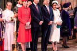 Meghan Markle + Prinz Harry: Britische Royals in der Kirche