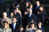 Meghan Markle + Prinz Harry: Britische Royals unterwegs zur Kirche
