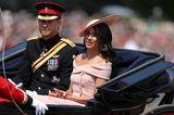 Meghan Markle + Prinz Harry: in der Kutsche