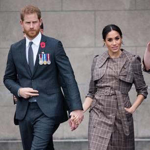 Meghan Markle + Prinz Harry: halten sich an den Händen