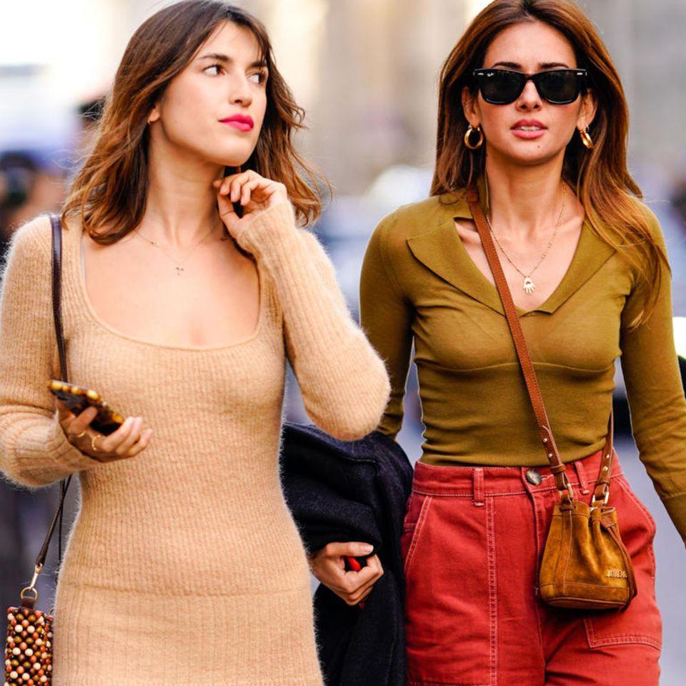 Trés stylisch! : Dieses Kleid tragen Französinnen gerade rauf und runter