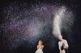 Die besten Hochzeitsfotos der Welt von 2019: Brautpaar Champagnerdusche