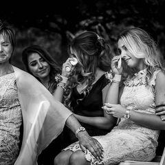 Die besten Hochzeitsfotos der Welt von 2019: Hochzeitsgäste Tränen