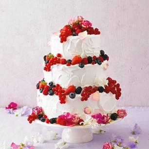 Himbeercreme-Torte